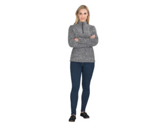 Ladies Energi Micro Fleece Sweater