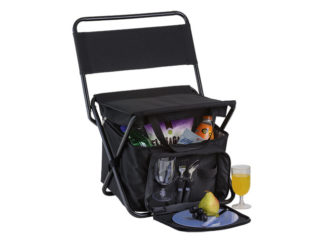 Picnic Chair Cooler With 2 Person Picnic Set